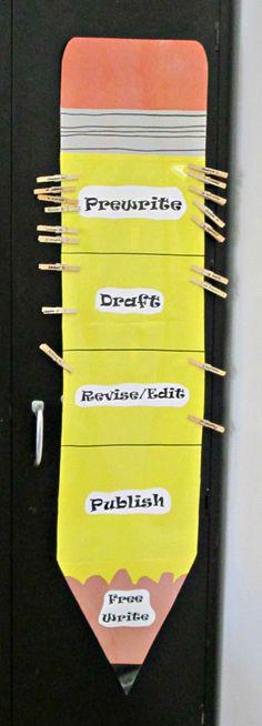 Pencil Organizer for the classroom