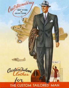 Op maat gemaakte kleding voor de op maat gesneden man - Custom tailored clothes for the custom tailored man.