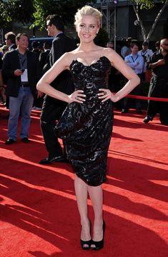 Charming Amber Heard Classy Hairstyles... She interpreted Emma Jennings in Paranoia (2013)