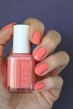 Essie Peach Side Babe | Essie Envy