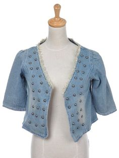 Anna-Kaci S/M Fit Washed Out Indigo Short Sleeve Cropped Open Denim Jacket Anna-Kaci,http://www.amazon.com/dp/B00726H77Y/ref=cm_sw_r_pi_dp_2dqatb0GEVW4HX7G