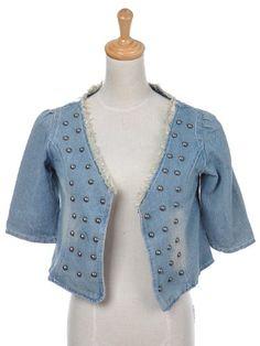 Anna-Kaci S/M Fit Washed Out Indigo Short Sleeve Cropped Open Denim Jacket Anna-Kaci,http://www.amazon.com/dp/B00726H77Y/ref=cm_sw_r_pi_dp_2dqatb0GEVW4HX7G