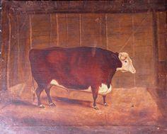 Antique cow 2