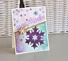 Such a Pretty card by Nicole Parmentier using the January 2015 card kit by Simon Says Stamp