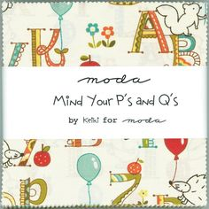 Mind your p´s and q´s by keiki for moda