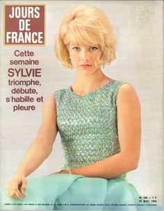 Sylvie Vartan - Jours de France n°496, 16 mai 1964