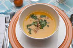 dc gourmet club: Sweet Potato Soup With Coconut and Lime.  Spring Party