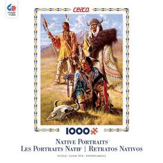 Native Portraits - Vision Seekers - 1000 Piece Jigsaw Puzzle