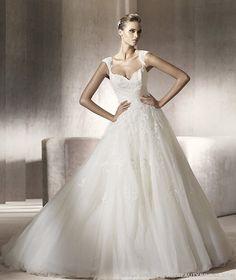 Google Image Result for http://thebeautybridal.com/wp-content/uploads/2011/04/Pronovias-2012-Wedding-Dress-PERLA-sweetheart-neckline.jpg