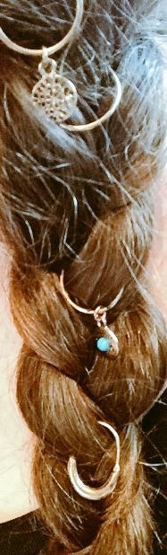 Stunning hair rings, from primark, click the pic for more fab stuff! Hair Rings, Summer Beauty, Primark, Hair Styles, Blog, Jewelry, Fashion, Hair Plait Styles, Moda
