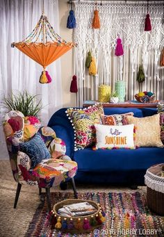 The Biggest Myth About Bohemian Decor Exposed - House Interior and exterior . - The Biggest Myth About Bohemian Decor Exposed – House Interior and exterior - Bohemian Living Rooms, Colourful Living Room, Living Room Decor, Colorful Couch, New Living Room, Colorful Rugs, Decoration Bedroom, Decoration Design, Boho Home