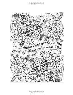 Amazon.com: Beauty and Scripture: Floral Designs (9780977914920): Spiritual Coloring Books: Books