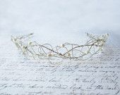 Silver Wire Tiara - beauuutiful!