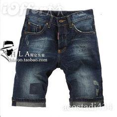 SUMMER 2011 DSQUARED2 JEANS SHORTS MEN'S Fashion SHORTS