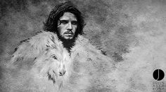 Jon Snow, By John Aslarona