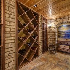 Small Room Wine Cellar Design Ideas, Pictures, Remodel, and Decor - page 14
