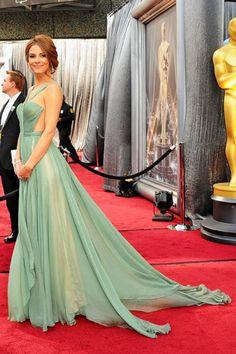 Maria Menounos, 2012 Oscars Best Dressed - ELLE