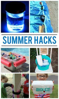 22 Summer Hacks to enjoy the summer!