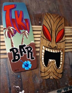 I want to make one of these tikis