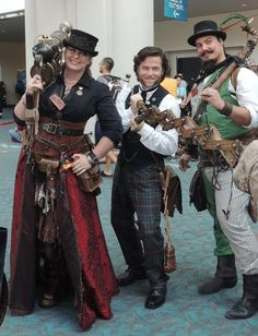 Steampunk - They have great accessories.  The extending arm especially.
