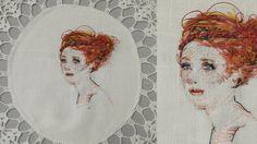 Stephanie Kelly embroidery.