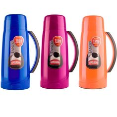 1 Termo Thermal 1 Liter Litro Compacto Coffee Tea Mate Pitcher Thermos Hot Cold