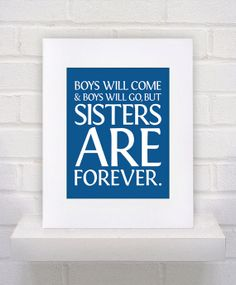 Boys Quote  11x14 poster print by KeepItFancy on Etsy, $10.00