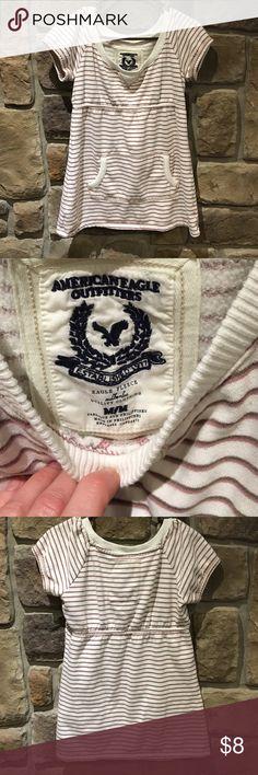 American Eagle short sleeve sweatshirt sz. M American Eagle short sleeve sweatshirt sz. M American Eagle Outfitters Tops Sweatshirts & Hoodies