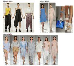My favourite styles of Spring Summer 2014 COLLECTION apparel, shoes and make up by Amaya Arzuaga, Andrea Incontri, Angelos Bratis ------- i miei preferiti della COLLEZIONE moda Primavera Estate 2014 abbigliamento scarpe accessori e trucco
