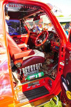 Van Interior by Barbusman, via Flickr