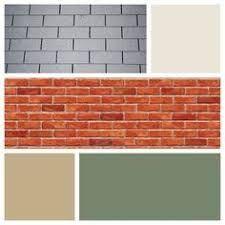Resultado de imagen para best front door color for orange brick house House Exterior Color Schemes, Exterior Paint Colors For House, Paint Colors For Home, Exterior Colors, Paint Colours, Modern Exterior, Room Colors, White Siding, Black Shutters