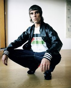 Ian Brown Ian Astbury, Ian Curtis, Paul Weller, Stone Roses, Mtv, My Music, Fiction, Bomber Jacket, Brown