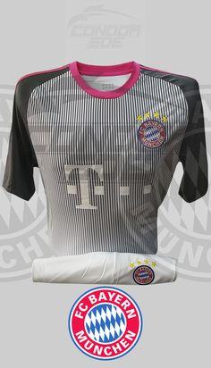 Excelente indumentaria de juego y entrenamiento del grande del fútbol Alemán, Bayer Múnich FC. #uniformes #camisetas #fútbol #bayermunich Bayer Munich Fc, Grande, Tops, Fashion, Training, T Shirts, Sports, Game, Moda