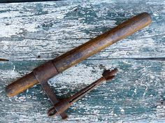 Antique Crosscut Logging Saw Handle @etsy