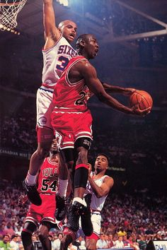 Jordan vs Barkley