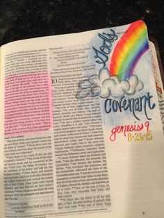Genesis 9:13-16 God's Covenant with Noah