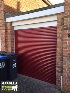 With our garage doors online design wizard you can create the perfect electric Roller Garage Door for yuor home. Click the link to see our garage doors and our roller garage door prices. Red Garage Door, Single Garage Door, Garage Door Paint, Garage Door Decor, Garage Door Makeover, Garage Door Design, Garage Walls, Roller Doors, Roller Shutters