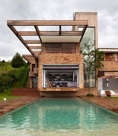 MP Quinta Da Baronesa, located in the outskirts of São Paulo, designed by Arthur Casas Studio.