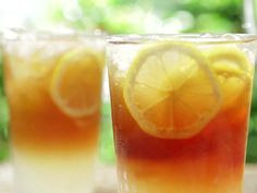 Long Island Iced Tea recipe from Bobby Flay via Food Network Tequila, Vodka, Triple Sec, Cocktails, Cocktail Drinks, Liquor Drinks, Drinks Alcohol, Party Drinks, Cocktail Recipes