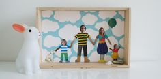 DIY Family Portrait Collage and Other Fun Ideas