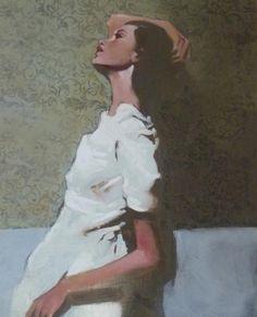 Artista: Michael Carson. Para conocer algo sobre él y mirar otras de sus obras: http://blog.enola.es/la-pintura-desdibujada-de-michael-carson/ http://es.pinterest.com/tishi/michael-carson/ http://www.artisticmoods.com/michael-carson/