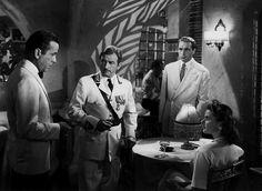 Casablanca  1942  -  Humphrey Bogart (Rick Blaine), Ingrid Bergman (Ilse Lund), Paul Henreid (Victor Laszlo), Claude Rains (capitano Louis Renault)