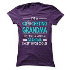 I'm a cool crocheting grandma :)