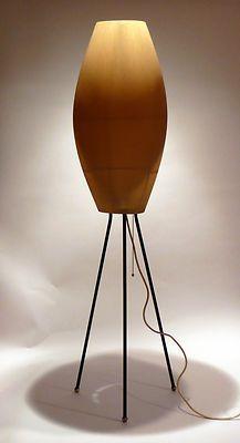 Vintage 1950s Floor Lamp Stilnovo Mid Century Atomic Art Deco Italy 60s 70s Era Vintage Floor Lamp Mid Century Lamp Lamp Inspiration
