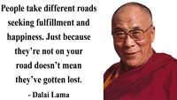"""""""People take different roads seeking fulfillment and happiness. Encouragement Quotes, Wisdom Quotes, Quotes To Live By, Lost Quotes, Me Quotes, Cool Words, Wise Words, Great Quotes, Inspirational Quotes"""