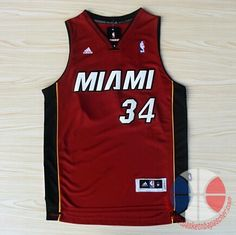maillot basket nba Miami Heat Allen #34 Noir Nuit latine nouveaux tissu 22.9€