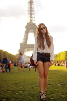summer in paris... That will be me one day.