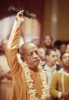 """""""So how and when did we fall into illusion?"""" Prabhupada: """"The natural state of the soul is Krishna consciousness, but the soul wants to enjoy separate from Krishna, so there is this material world for Krishna unconsciousness. Lord Krishna, Lord Shiva, Advaita Vedanta, Srila Prabhupada, Divine Grace, Religious Pictures, Bhagavad Gita, Radhe Krishna, Historical Pictures"""