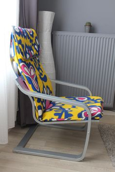 recovering a poang & painting IKEA Poang chair frame | Home | Pinterest | Ikea poang ...
