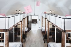 Derived from the rich history of both its site and layout, which is one long continuous hall, Long Story Short is a brand new hostel in Olomouc, Czech Republic that joins the dots between a historic and modern lifestyle.